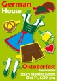 German House Oktoberfest Flyer