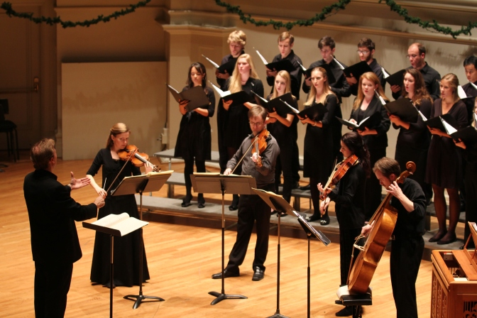 "UVA Chamber Singers ""Abendlied"" Concert (November 22nd, 8:00 pm)"