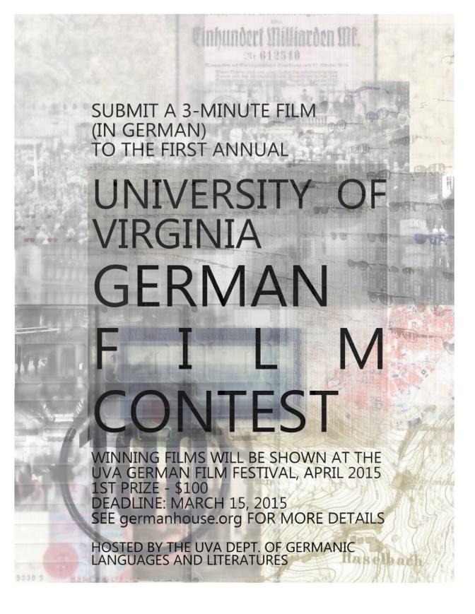 UVA – Department of German Studies – Film Festival